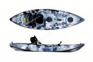 pescar en kayak