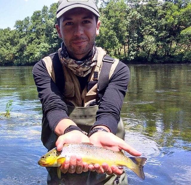 Pesca de truchas