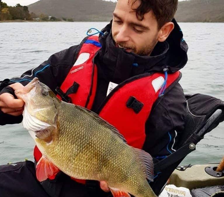 La pesca de percas en invierno