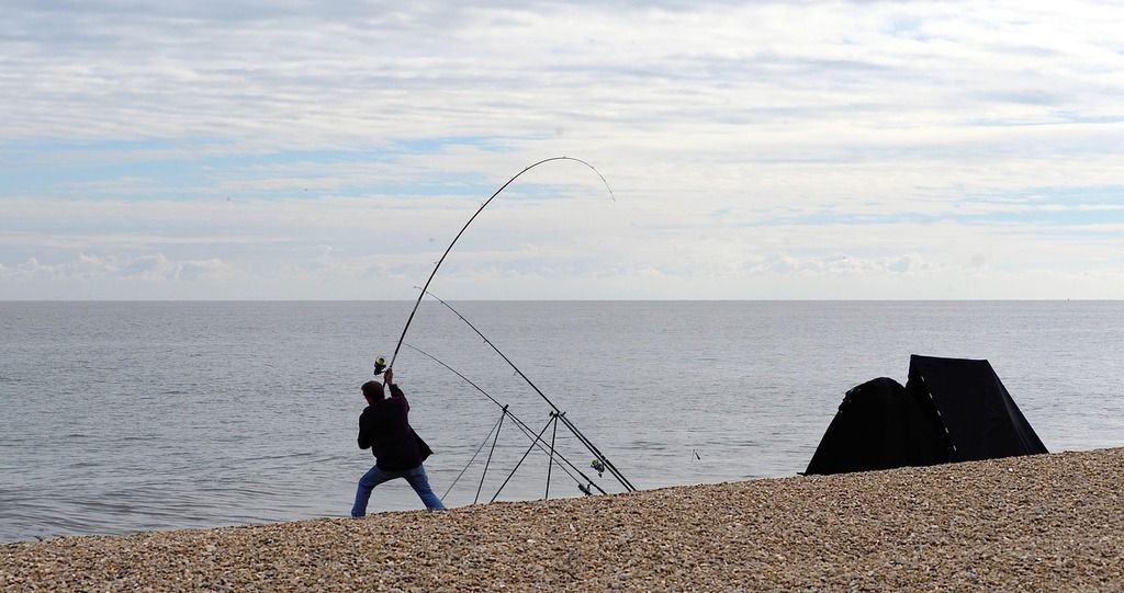 cañas de pesca para surfcasting