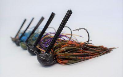 Jig para la pesca del black bass.
