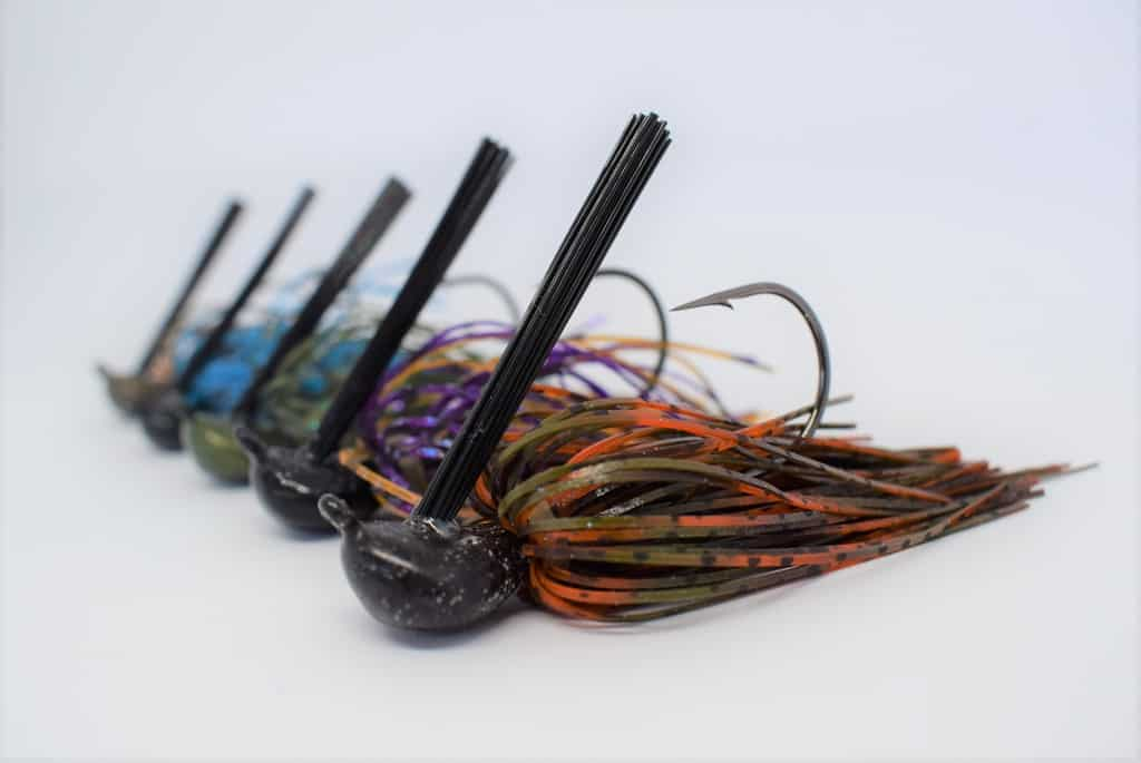 El señuelo jig para la pesca de depredadores